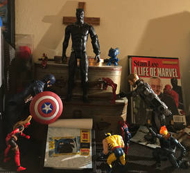Chadwick Boseman Black Panther Action Fig Tribute