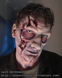 Finished undead make up by Monstermann