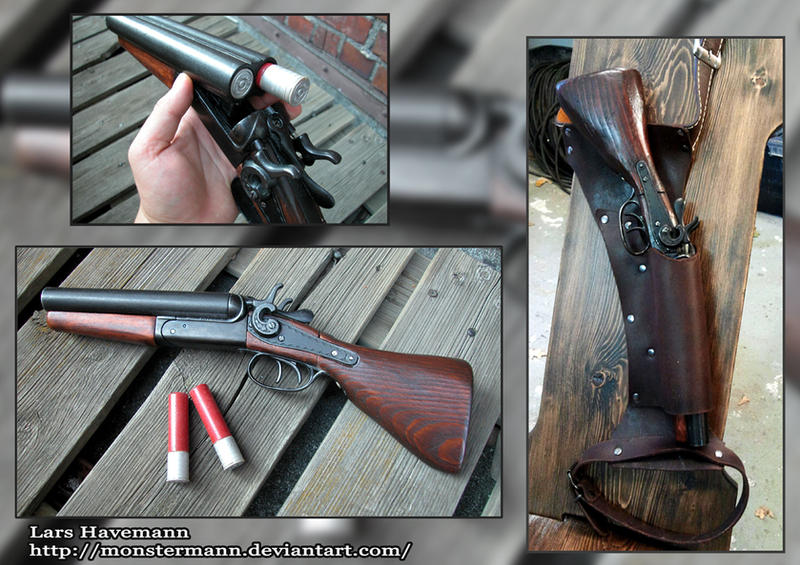 Shotgun and Holster by...