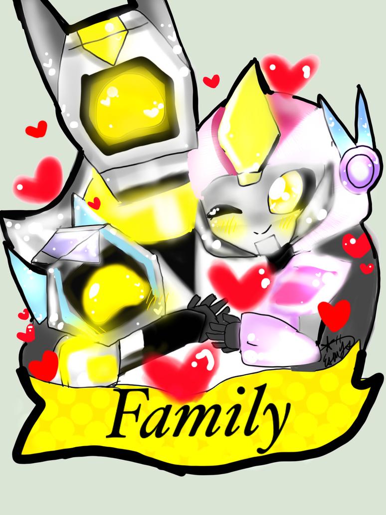 Family By ESMY-TMNT by bumblebeegirl1234