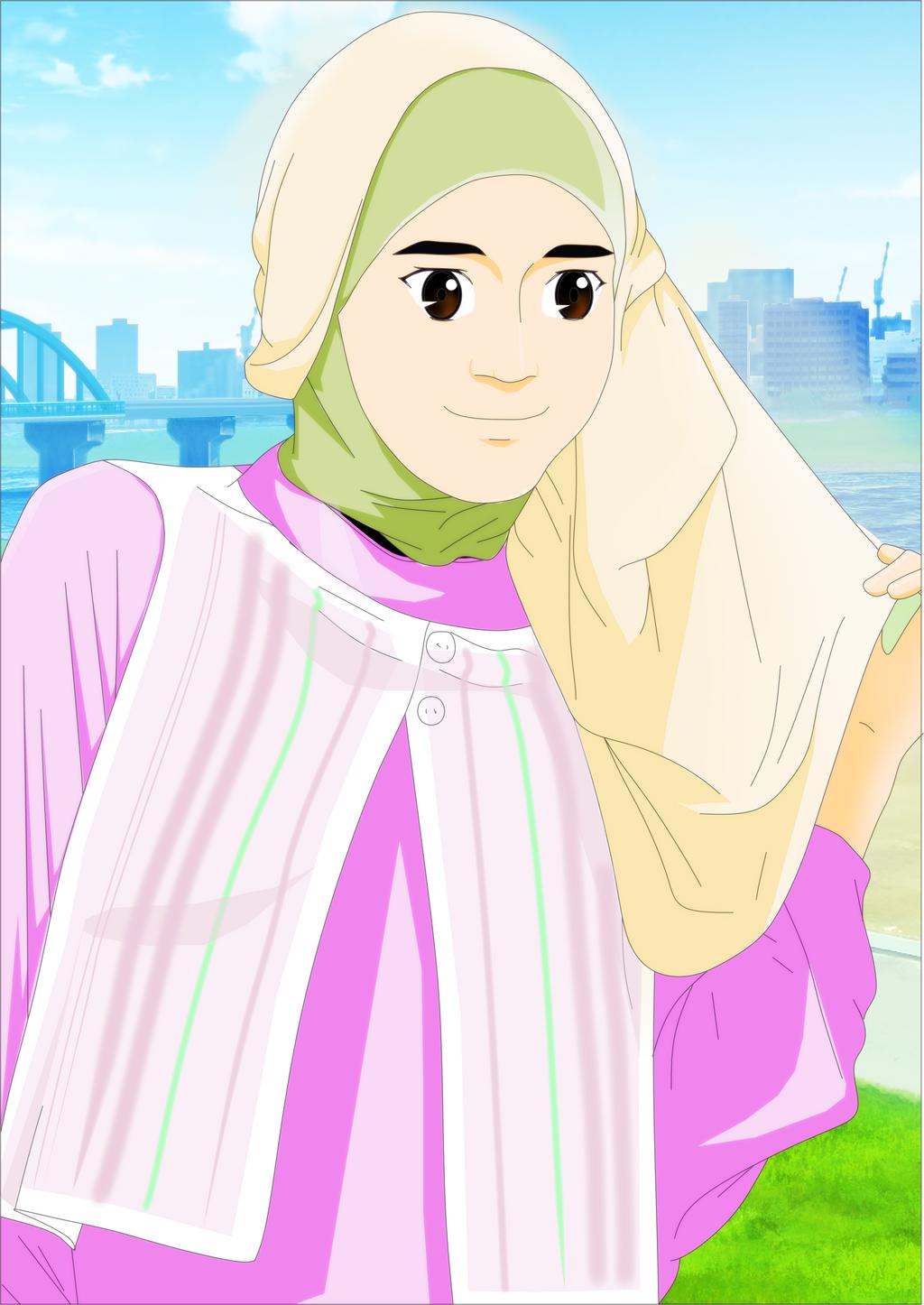Cewek Islam Modern By Ivantrie