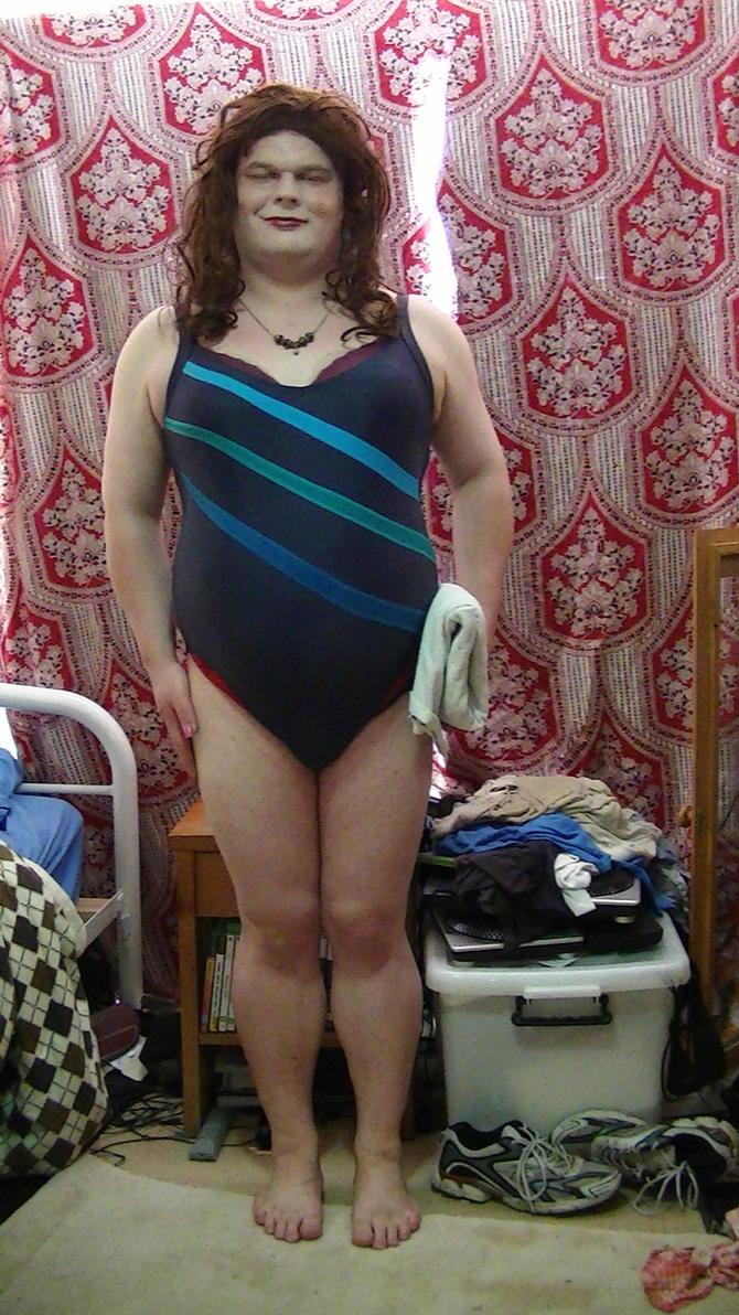 swimsuit crossdress Cecilia's New Swimsuit 2 by rjrgmc28 ...