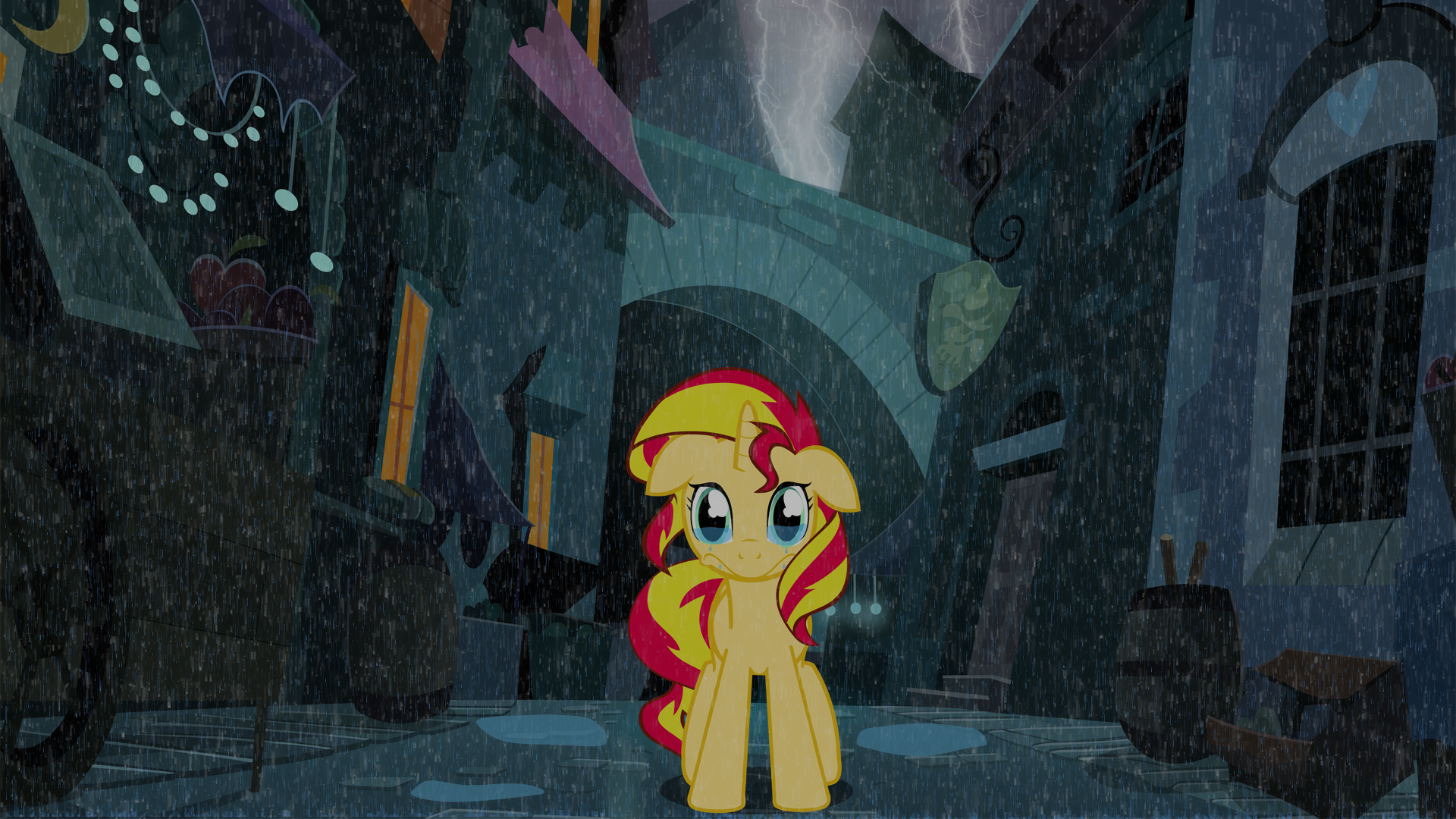 Shimmer in the Rain by rjrgmc28