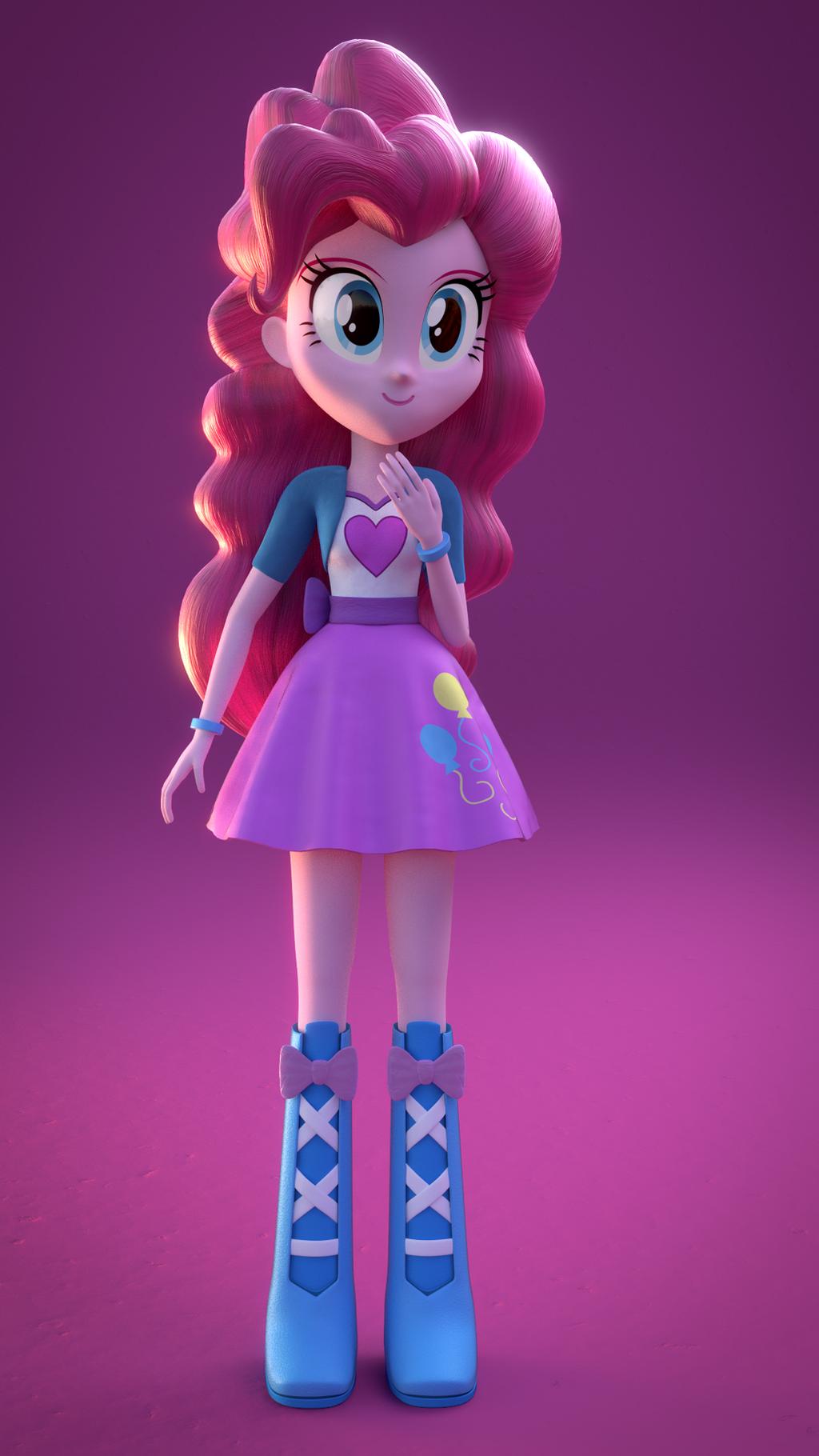 Pinkie Pie 'Loved' (EQG Blender) by rjrgmc28 on DeviantArt