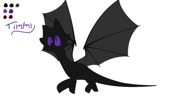 Character Design: Timmy, the dark dragon