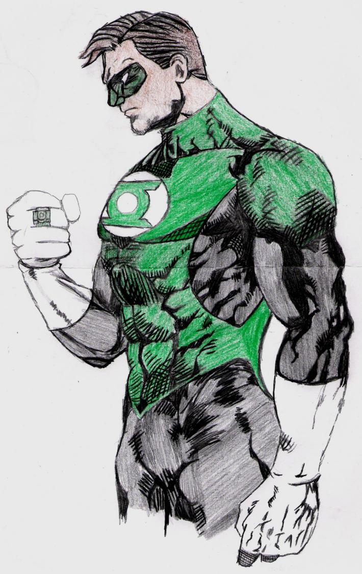 Green Lantern by lordtator