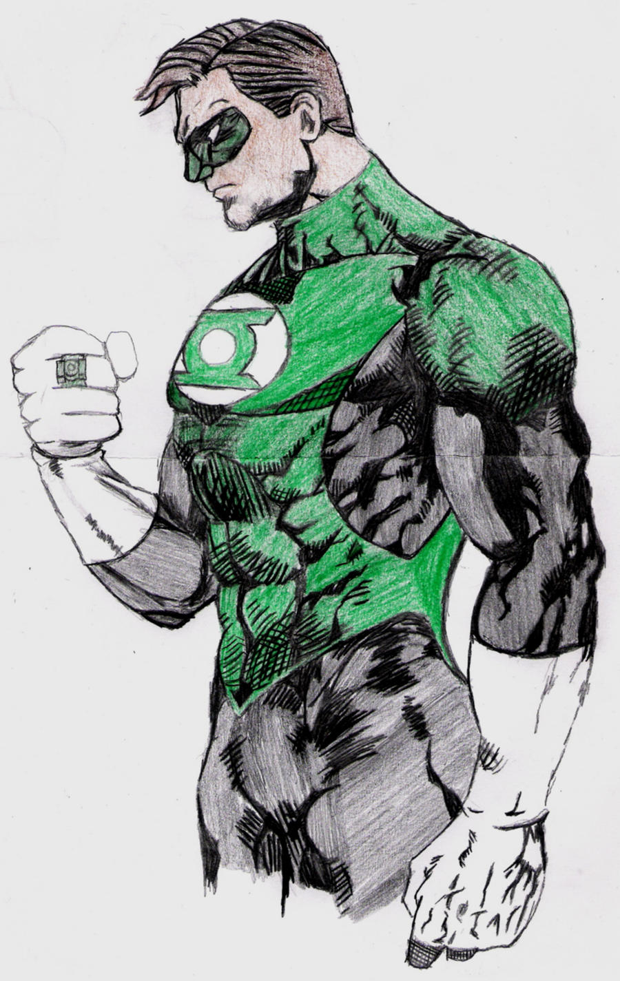 Green Lantern by lordtator