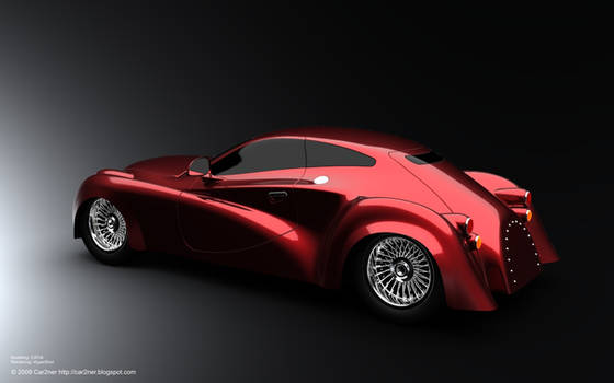 Existentia Concept Car by car2ner