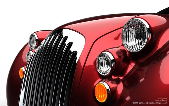 Existentia Concept Car. View 3 by car2ner
