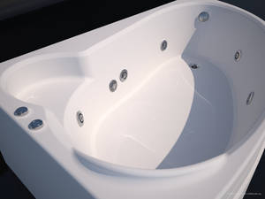 Bathtub modeling and rendering
