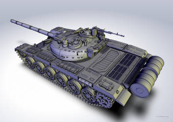 T-72 Scale model by car2ner