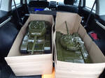 KV-85 and T-72 by car2ner