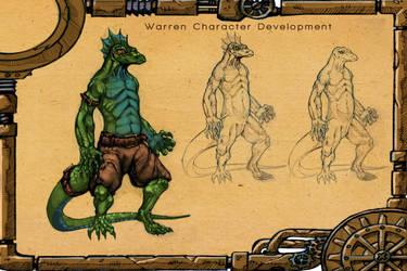 Desert Lizard Concept by AlvarezIllustration