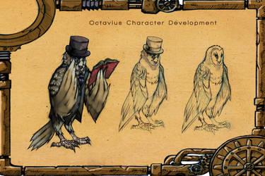 Owl Concept by AlvarezIllustration