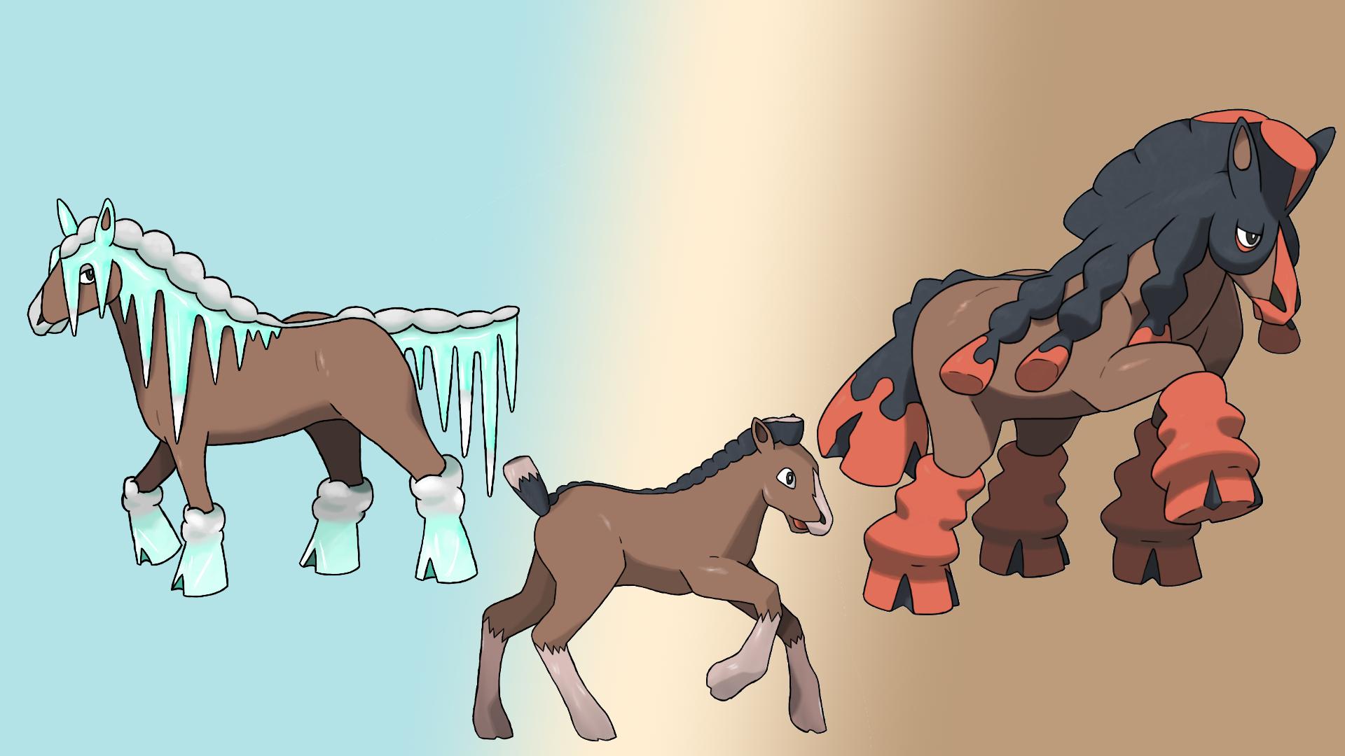 Mudsdale Evolution