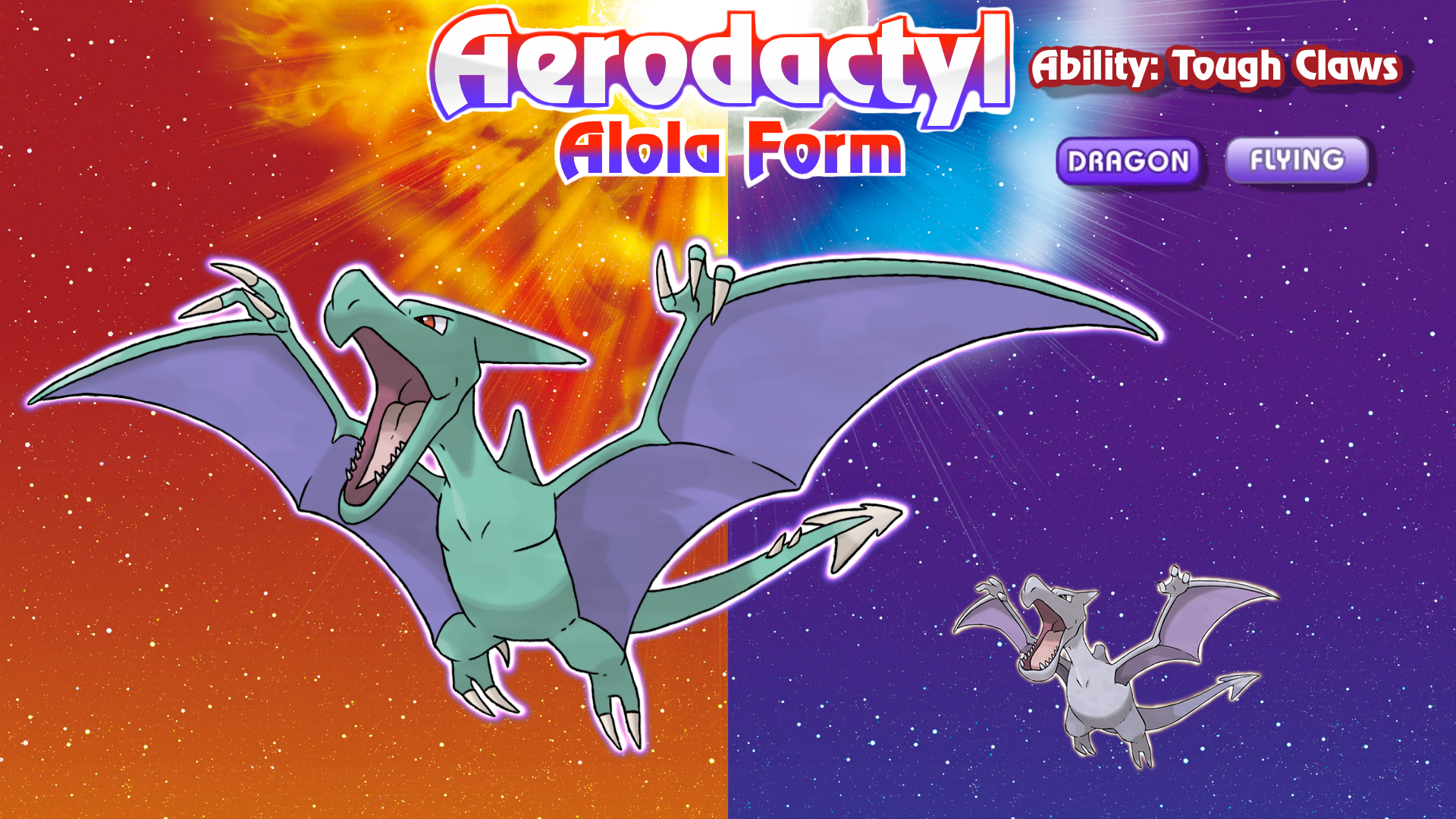 Alolan Form Aerodactyl