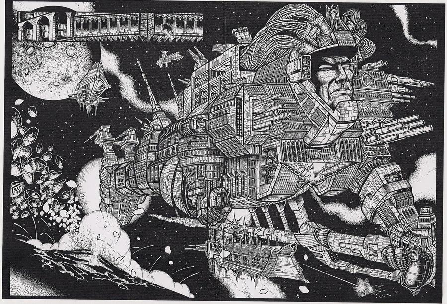 Warhammer- The Monolith by wolvesbear