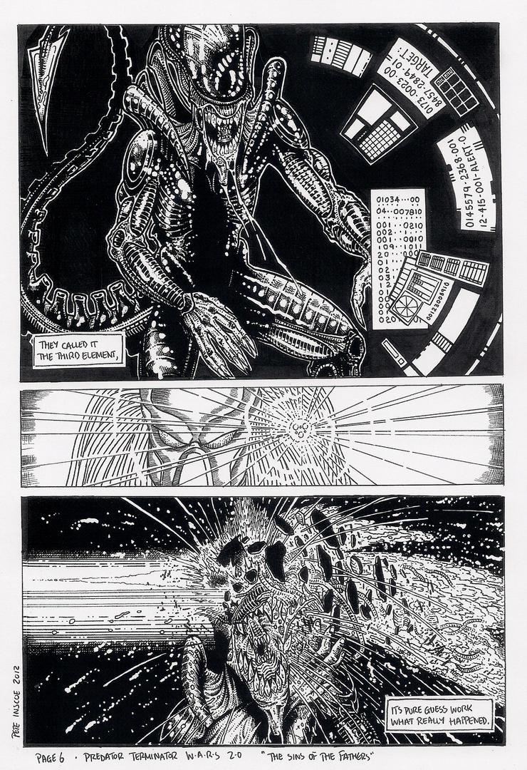 Predator Terminator Wars 2.0 page 6 by wolvesbear