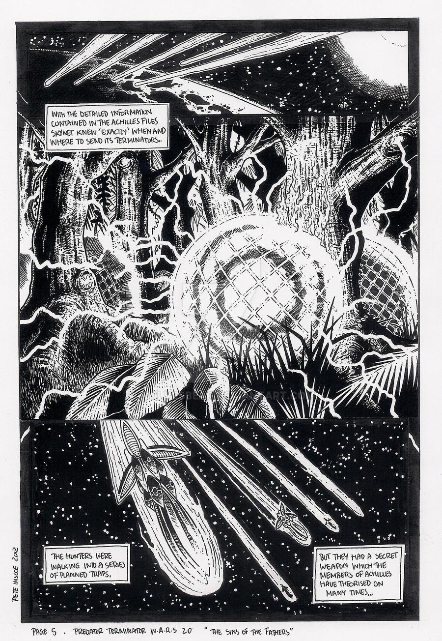 Predator Terminator Wars 2.0 page 5 by wolvesbear