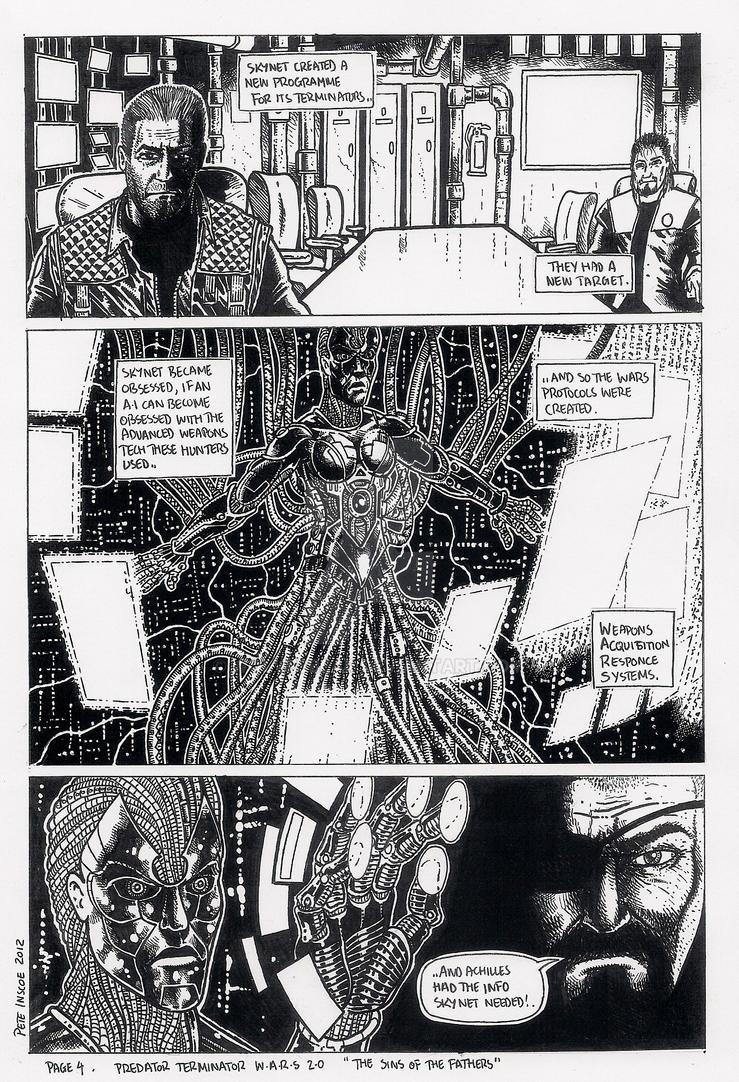 Predator Terminator Wars 2.0 page 4 by wolvesbear