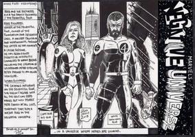 Sue/ Reed Richards Marvels Negative Universe