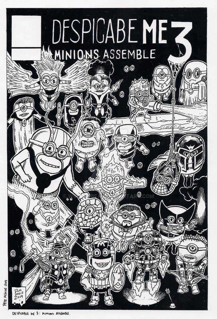 Despicable Me 3: Minions Assemble by wolvesbear