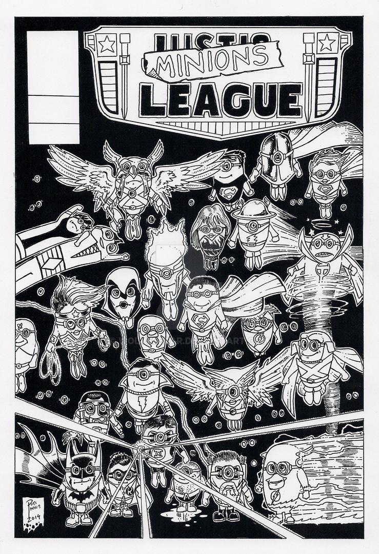 Minions League - Despicable Me 3 by wolvesbear