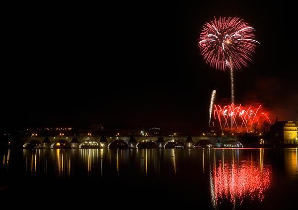Praga Fireworks by sahmat86