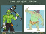 Before and After meme by Kaboio