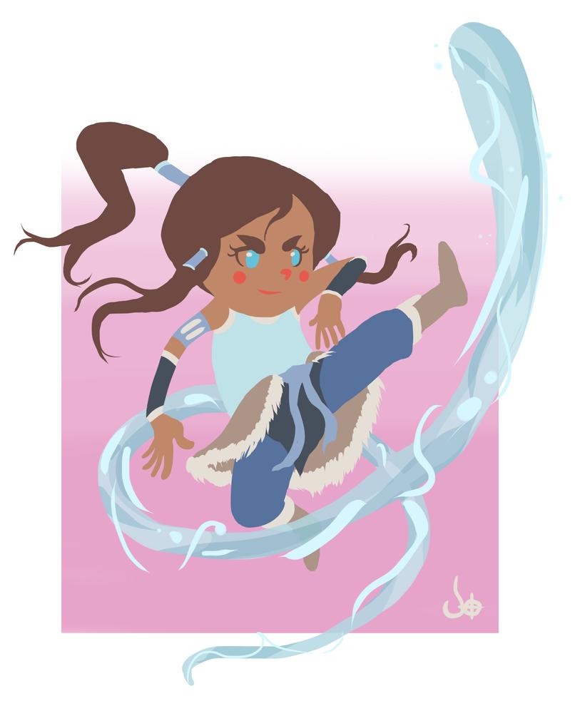 Avatar Korra by Kaboio