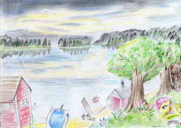 One beautiful but short summer. by FushigiOoka