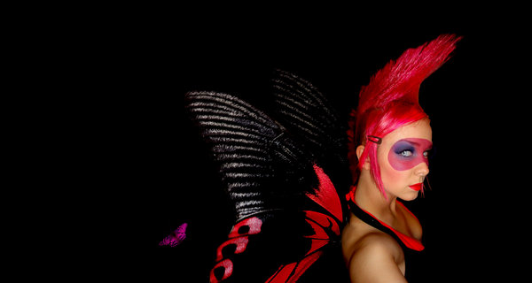 Punk Butterfly by PixieCold