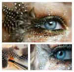 Mockinjay Make-up card