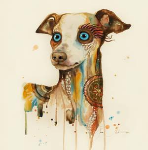 Steampunk dog