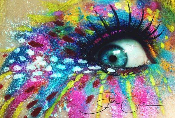 Crazy Artist Make Up