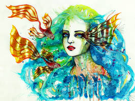 Mermaids dream by PixieCold