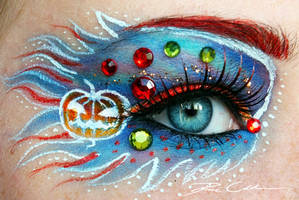 Halloween Make Up by PixieCold