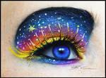 Galaxy Girl Make Up + Tutorial!