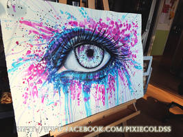 Eyery drop is a memory by PixieCold