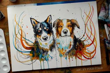 Best buddies by PixieCold