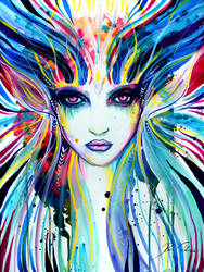 Goddess Of Colours by PixieCold