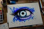 Her blue eyes (on sale)