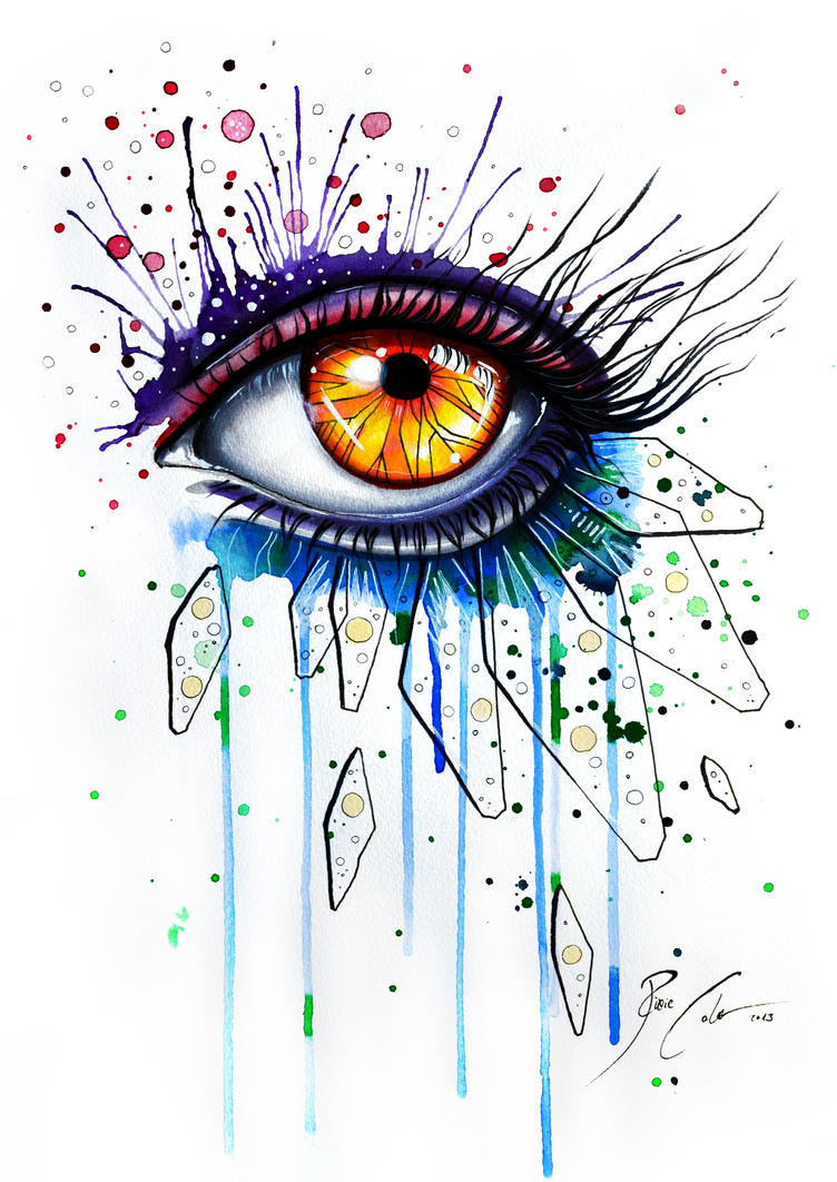 Eye Art Design : Abstract feelings on sale by pixiecold deviantart