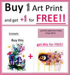 One Art Print for FREE!!