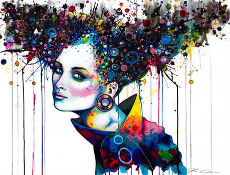 Goddess of imagination -on sale-