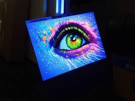 Blacklight Eye