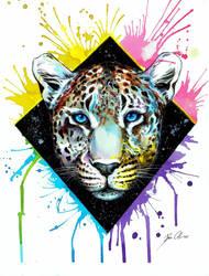 Leopard + Speedpainting Video