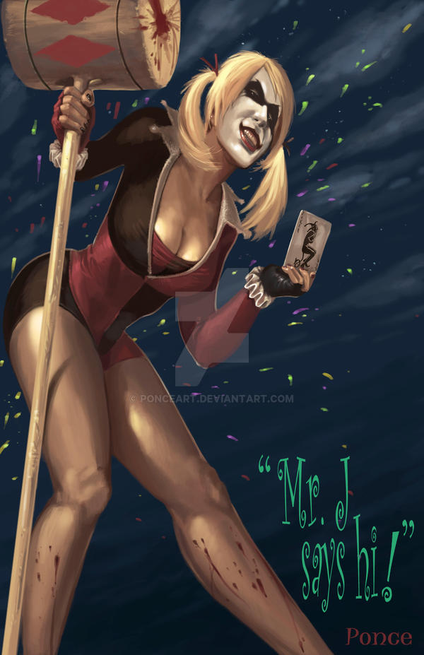 Harley Quinn - Aftermath by PonceArt