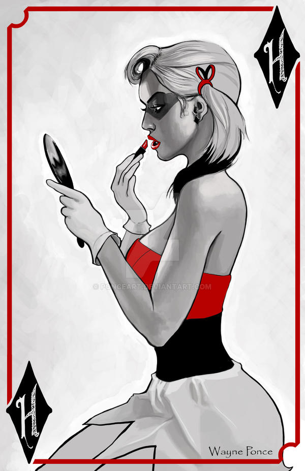 Harley Quinn - Almost ready Mr.J by PonceArt