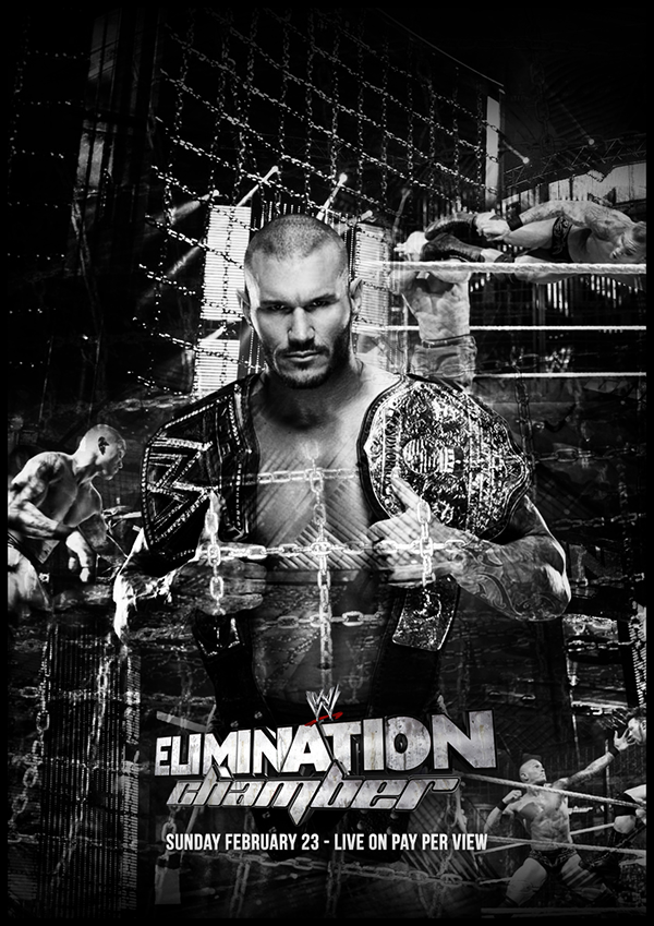 WWE Elimination Chamber 2014 - Fan Poster by RynWlsn